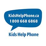 Kid's Help Phone (24 hours) 1-800-668-6868